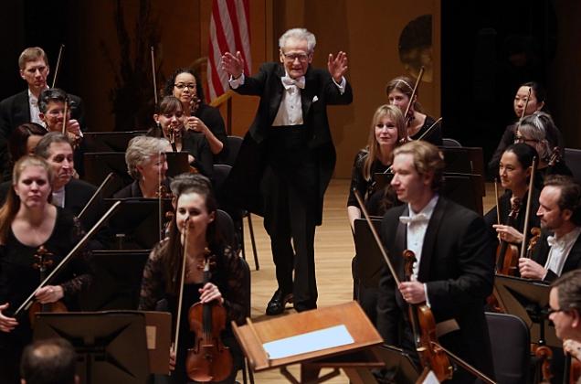 91-year old Conductor Laureate Stanislaw Skrowaczewski