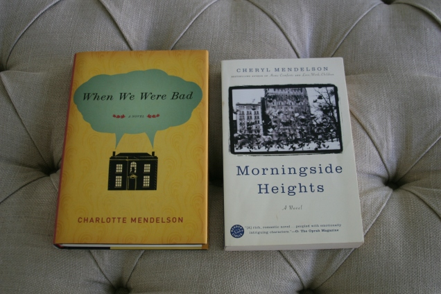 I love Cheryl Mendelson's Morningside Heights Trilogy and first thought Charlotte's novels were by Cheryl. Still, it looked interesting enough to buy anyway.