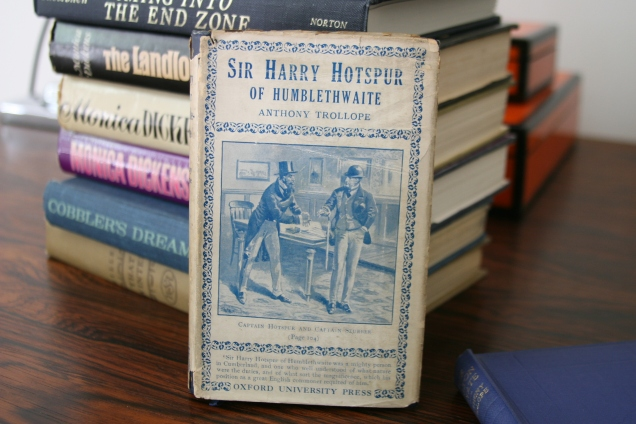 I can never pass up a mini-Trollope and the title of this one made it an extra delightful find.