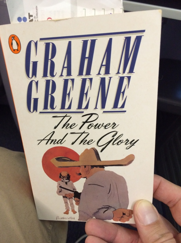 I read two other books while staying in the colonial town of San Miguel de Allende in Mexico but didn't pick up this Mexico-based Graham Greene until the plane ride home.
