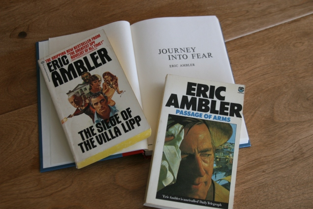 Unless they were published under different titles, I don't have any of the Ambler.